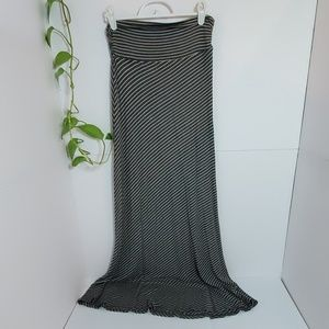 ❤Monteau maxi jersey clingy skirt small grey